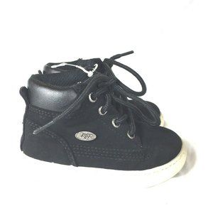 Lugz Toddler Boots Size 6 Black Suede Waterproof